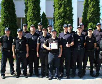 Харьковские патрульные признаны лучшими в Украине
