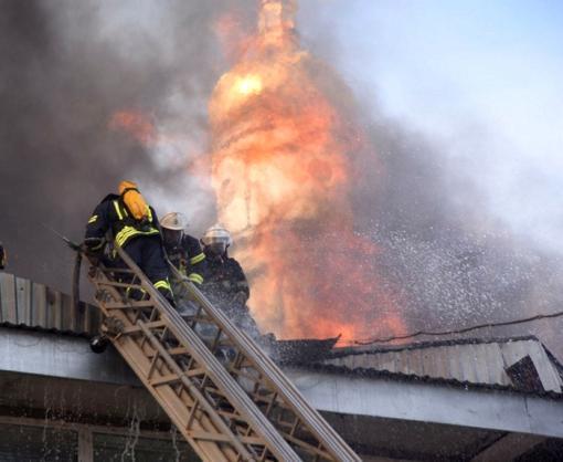 Пожар в Харькове на Университетской: версия полиции