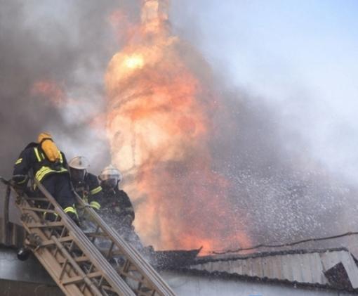 Сгоревший в Харькове памятник архитектуры будет восстановлен