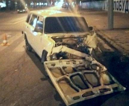 ДТП в Харькове: на Сумской пожарная машина врезалась в легковую