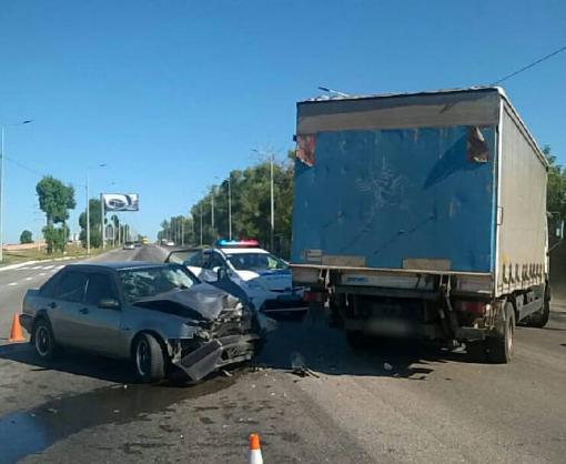 ДТП в Харькове: трое пострадавших
