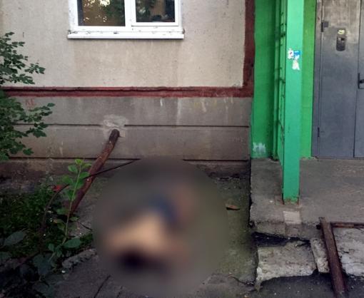 В Харькове иностранец выпрыгнул из окна