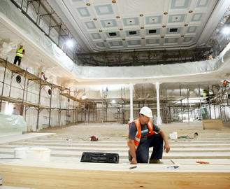 Строительство филармонии в Харькове: работы в самом разгаре