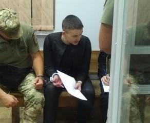 Апелляционный суд оставил Надежду Савченко под стражей