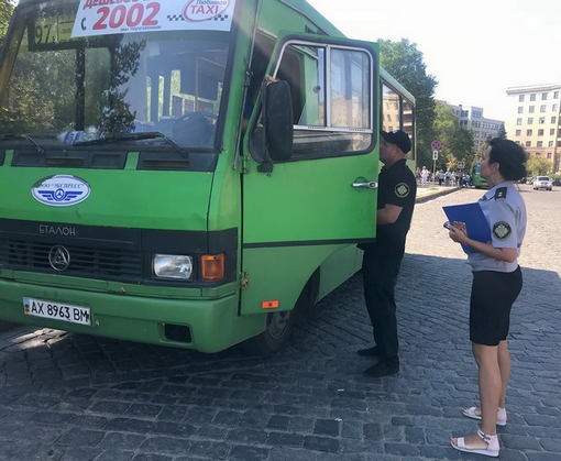В Харькове проверяют маршрутки