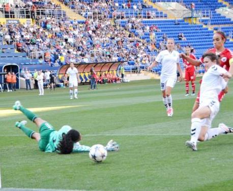 Харьковские футболистки вышли в плей-офф женской Лиги чемпионов УЕФА