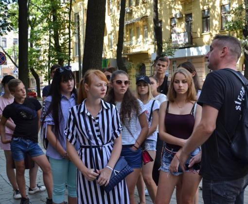 Современный и литературный: дети из прифронтовой зоны открыли для себя новый Харьков