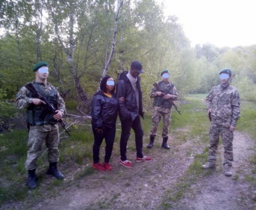 В Харьковской области поймали группу нелегалов