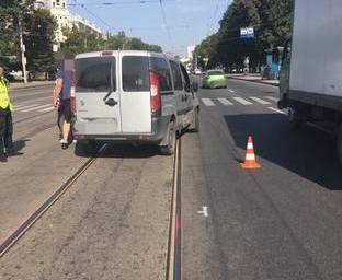 ДТП в Харькове: Matiz врезался в Fiat