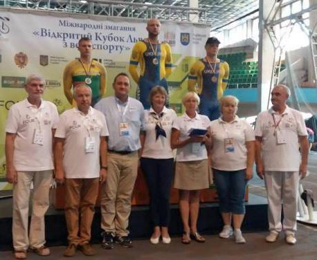 Харьковчанин победил в велогонке во Львове