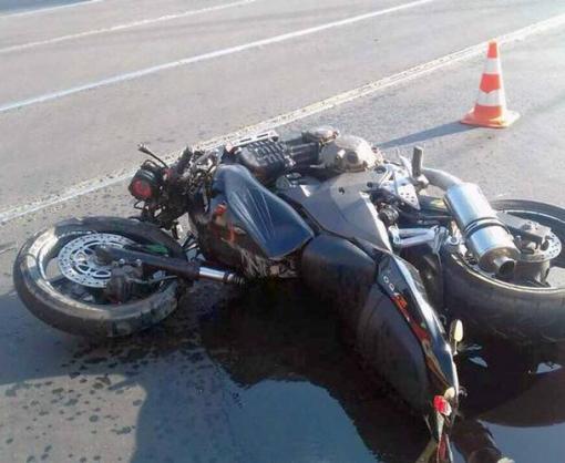 ДТП в Харькове: сбили байкера