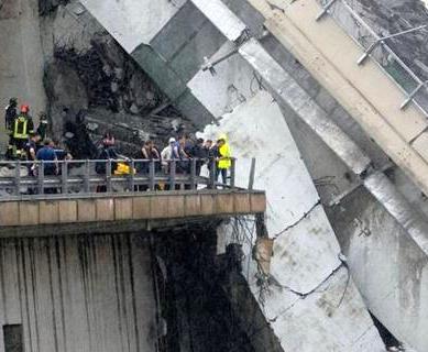 Поисковая операция в Генуе после обвала моста завершена