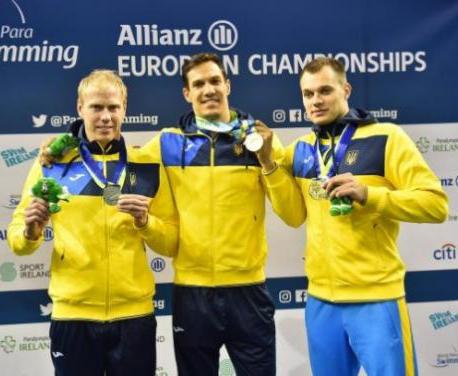 Национальная паралимпийская сборная по плаванию победила в медальном зачете чемпионата Европы