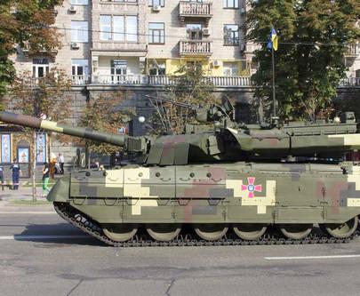 Харьковский танк проедет парадом по Киеву