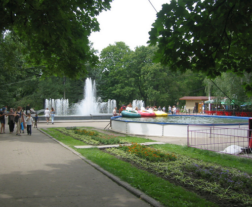 Сад Шевченко не откроется ко Дню города