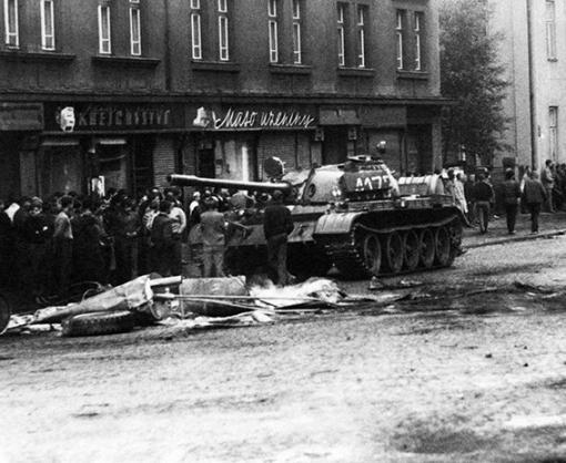 Чехия признала вторжением и оккупацией ввод советских войск в 1968 году