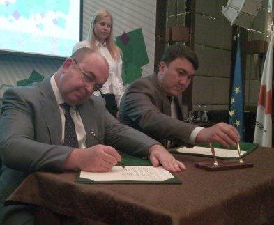 Харьков начинает сотрудничество с Астаной