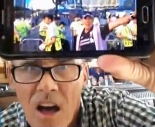 Солист группы Bad Boys Blue Джон МакИнерни тайно посетил Киев