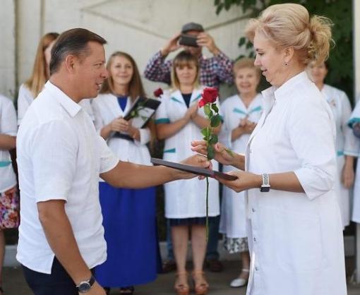 Олег Ляшко: «Нам нужна здоровая нация!»
