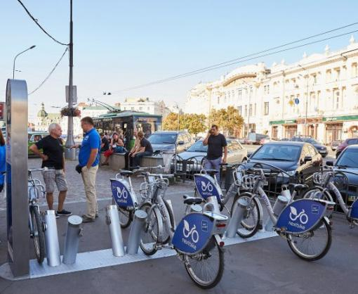 В Харькове открыли городской велопрокат