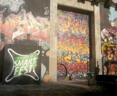 Открылся фестиваль стрит-арта Kharkiv SmART Fest