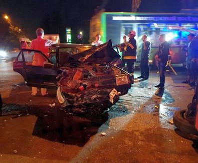 ДТП в Харькове: пятеро пострадавших