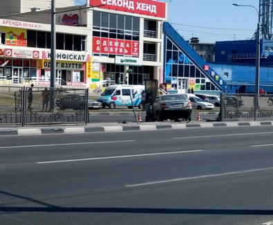 ДТП в Харькове: машина снесла забор на Одесской