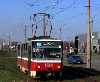 В Харькове приостанавливают движение двум трамваям