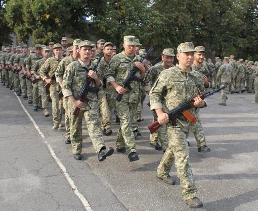 Военнослужащие бригады теробороны приняли присягу на верность народу Украины