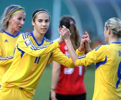 Украинская сборная по футболу завершила отбор победой над Венгрией