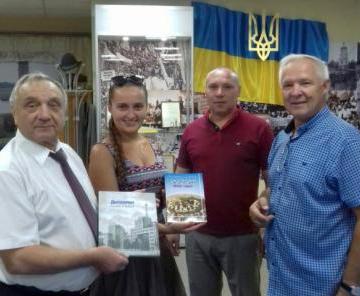 В Харькове презентовали фотоальбом, посвященный Госпрому