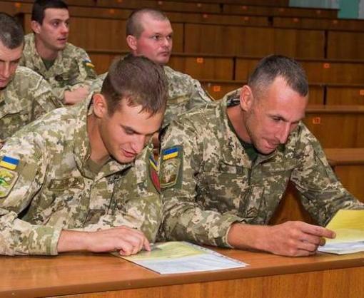 В Харькове прошли экстренные курсы для военных