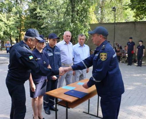 Харьковские спасатели торжественно приняли присягу