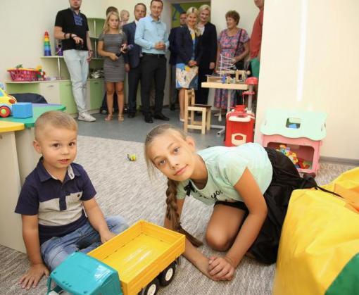 На Харьковщине начал работу центр социальной реабилитации детей и людей с инвалидностью