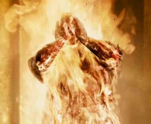 На Харьковщине молодой человек совершил самосожжение