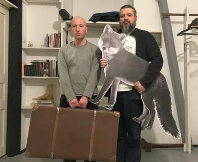 Гамлет Зиньковский и Bob Basset презентуют проект «Предметы» в «ЕрмиловЦентре»