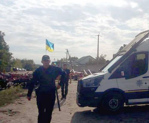 Под Харьковом в массовой драке пострадал полицейский
