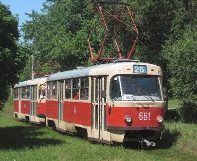 С вечера в Харькове не будут ходить трамваи