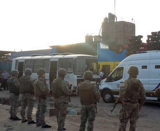 Прокуратура сообщила о подозрении участникам конфликта вокруг элеватора в Змиевском районе