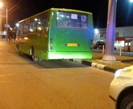 ДТП в Харькове: протаранил маршрутку и пытался сбежать