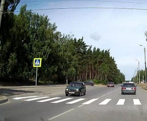 В Харькове юноша чудом избежал смерти на дороге: видео-факт