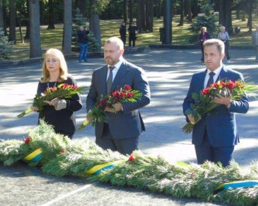 В Харькове почтили память погибших освободителей области