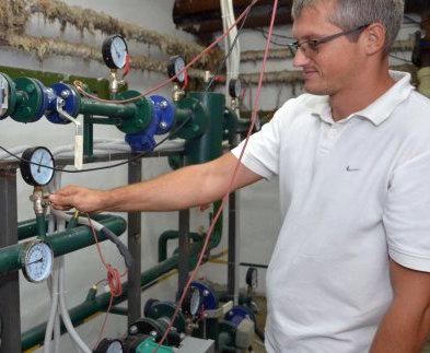 В Харькове продолжают устанавливать тепловые счетчики в домах
