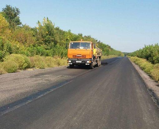 Завершаются основные работы на дороге Харьков - Ахтырка
