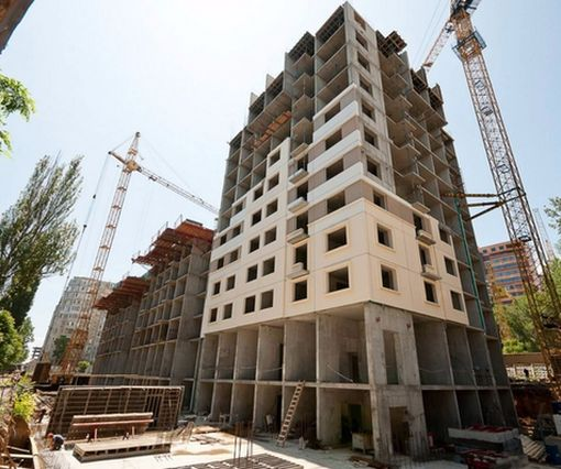 В Харькове резко нарастили строительство жилья