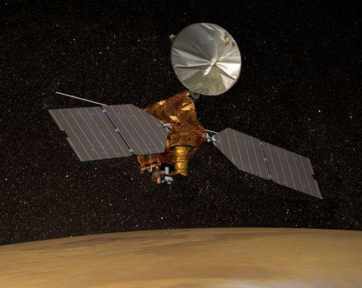 Станции NASA удалось разглядеть из космоса потерянный марсоход: фото-факт