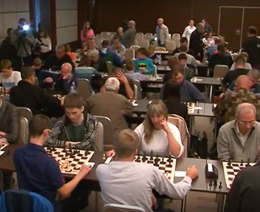 На Харьковщине стартовал шахматный турнир на Кубок председателя ХОГА