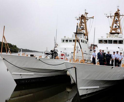 Украина получила от США катера класса Island: фото-факт