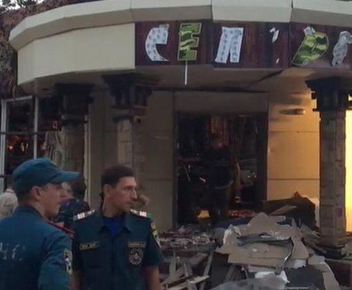 В Сети выложили видео с моментом подрыва главаря «ДНР» в Донецке: видео-факт