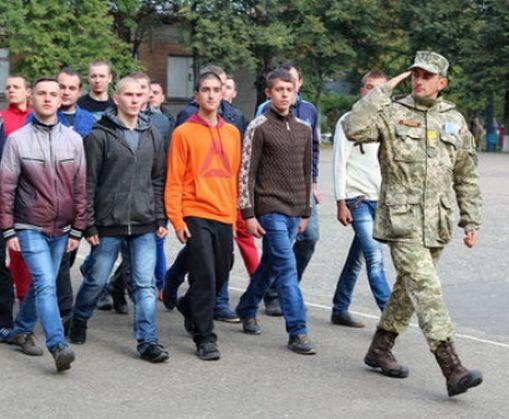 В Харькове заметно увеличили количество призывников